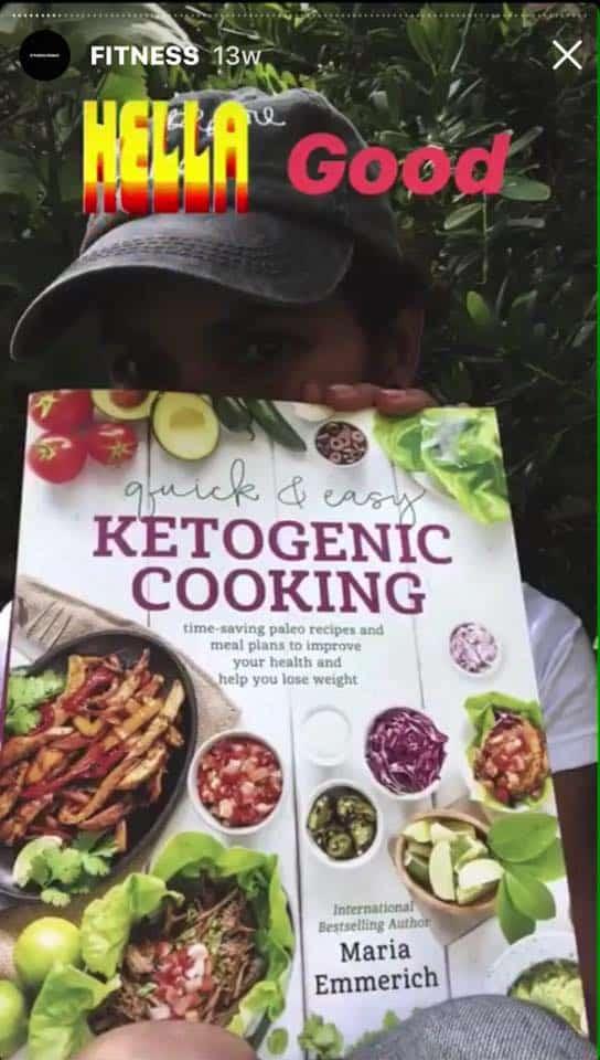 Halle Berry keto book