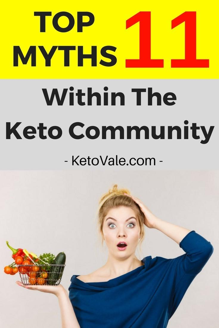 11 Myths Within the Keto Community