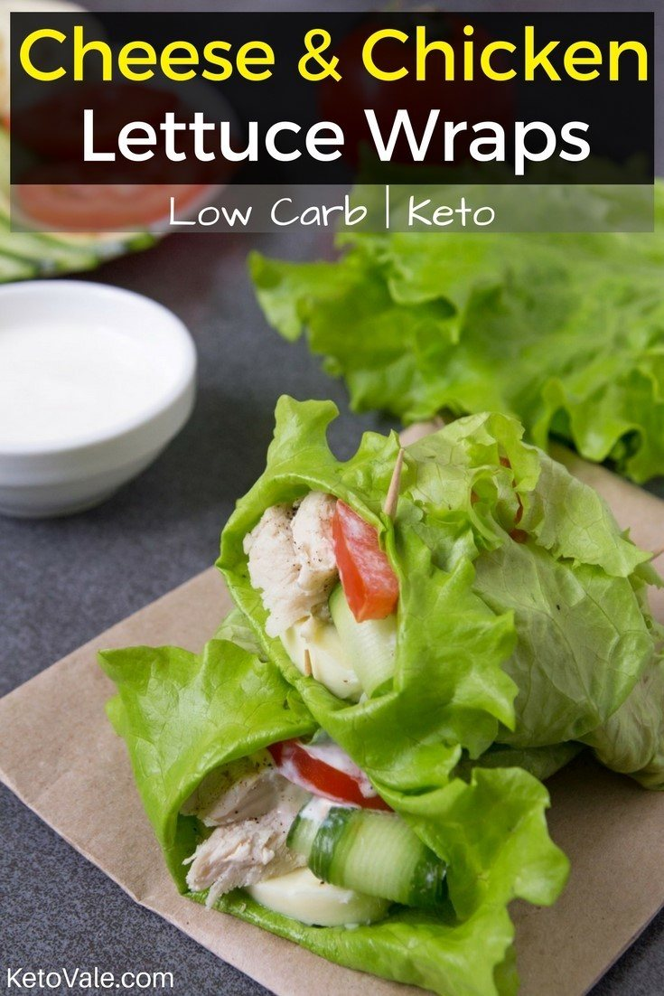 Low Carb Chicken Lettuce Wraps Keto Diet Recipe