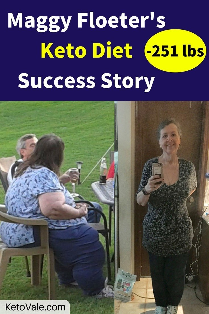 Maggy Floeter's Keto Weight Loss Before After Photo