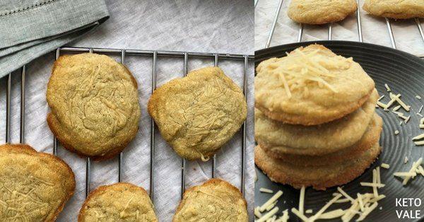 Parmesan Almond Flour Biscuits
