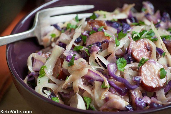 Sausage and Cabbage Skillet Recipe