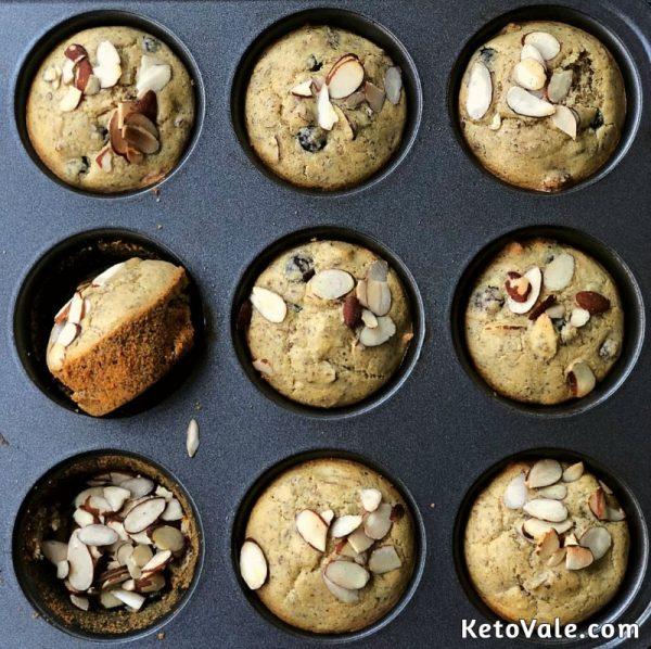 Almond Blueberry Muffin Recipe