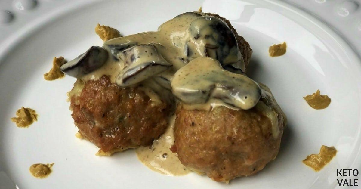 Cheese Stuffed Turkey Meatballs