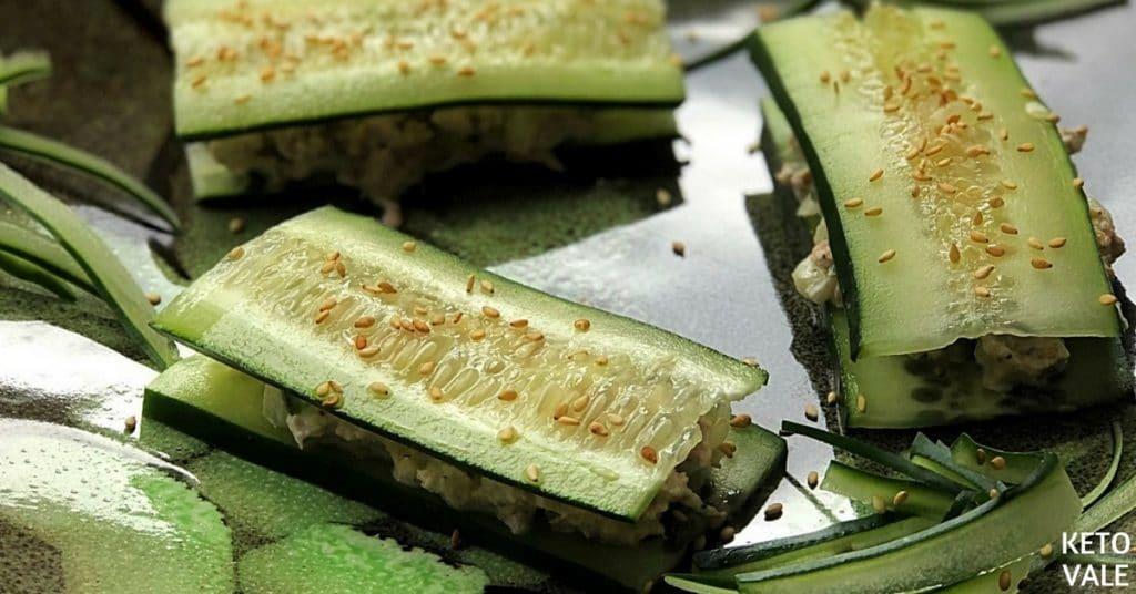 Cucumber Tuna Sandwiches