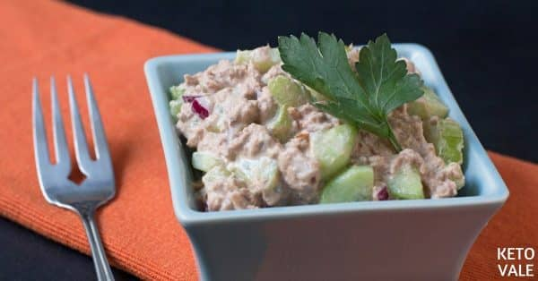 Cucumber and Celery Tuna Salad