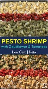 Low Carb Pesto Shrimp