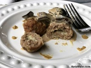 Mozzarella Stuffed Turkey Meatballs Recipe