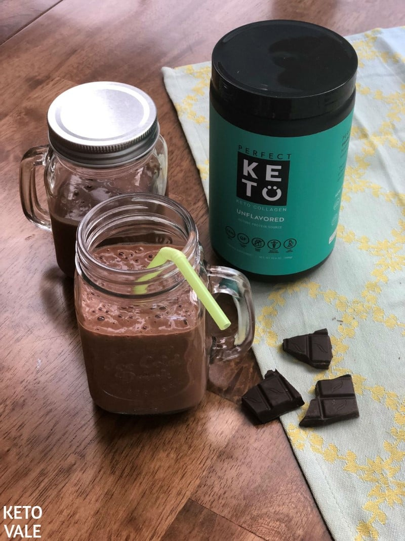 Avocado Collagen Chocolate Smoothie Recipe