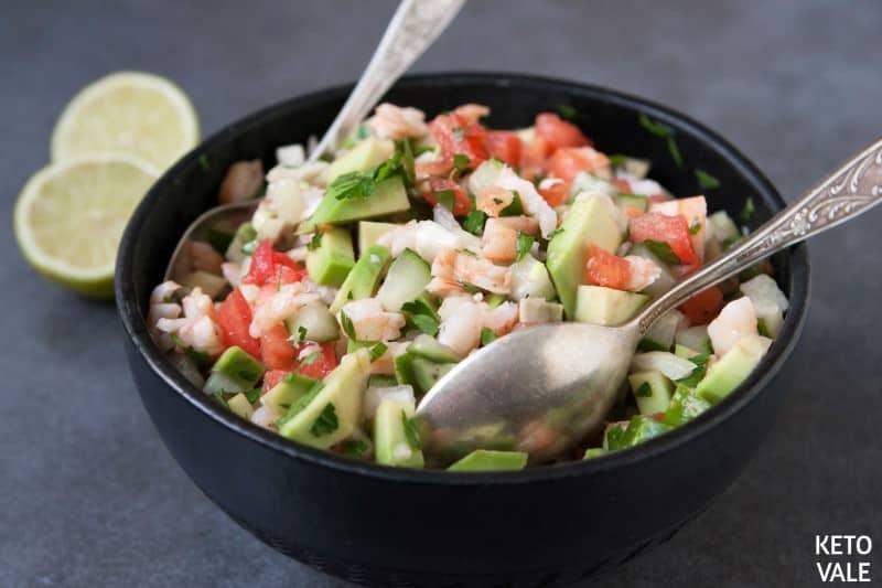Avocado Shrimp Salsa Recipe