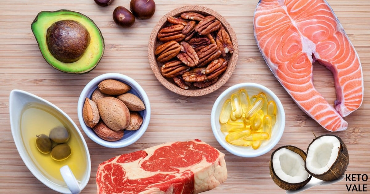 Healthy Fats List Best Sources To Eat On Ketogenic Diet Keto Vale