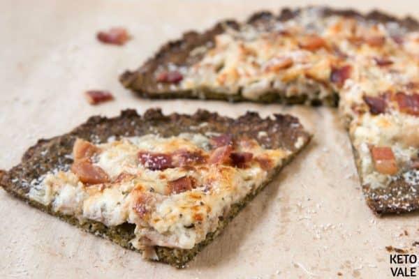 Broccoli Crust Chicken Pizza Recipe