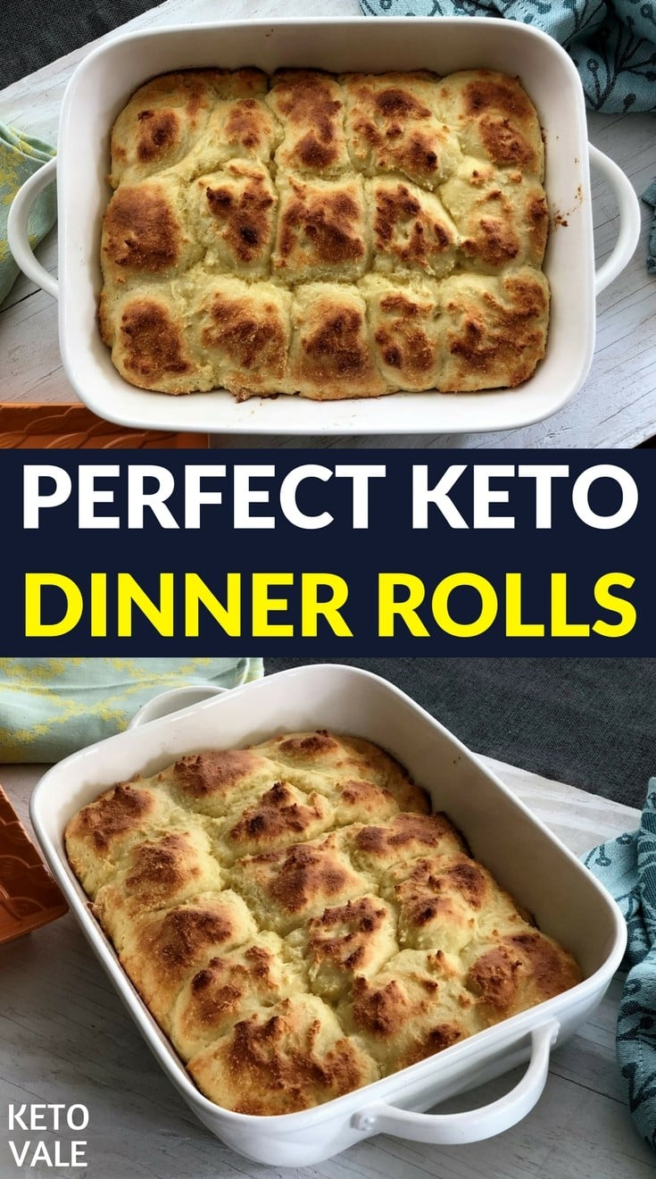 Easy Keto Dinner Rolls Recipe