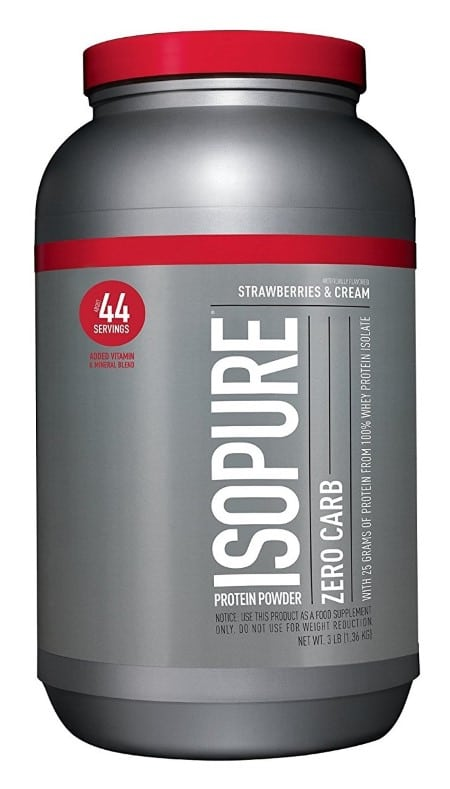 Isopure Zero Carb Whey Protein Isolate
