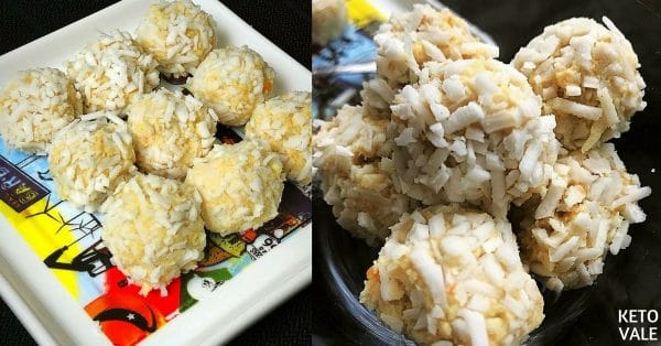 Keto Cauliflower Coconut Balls