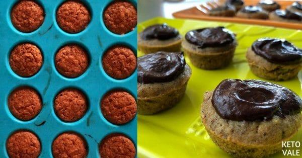 Keto Coffee Chocolate Cupcakes