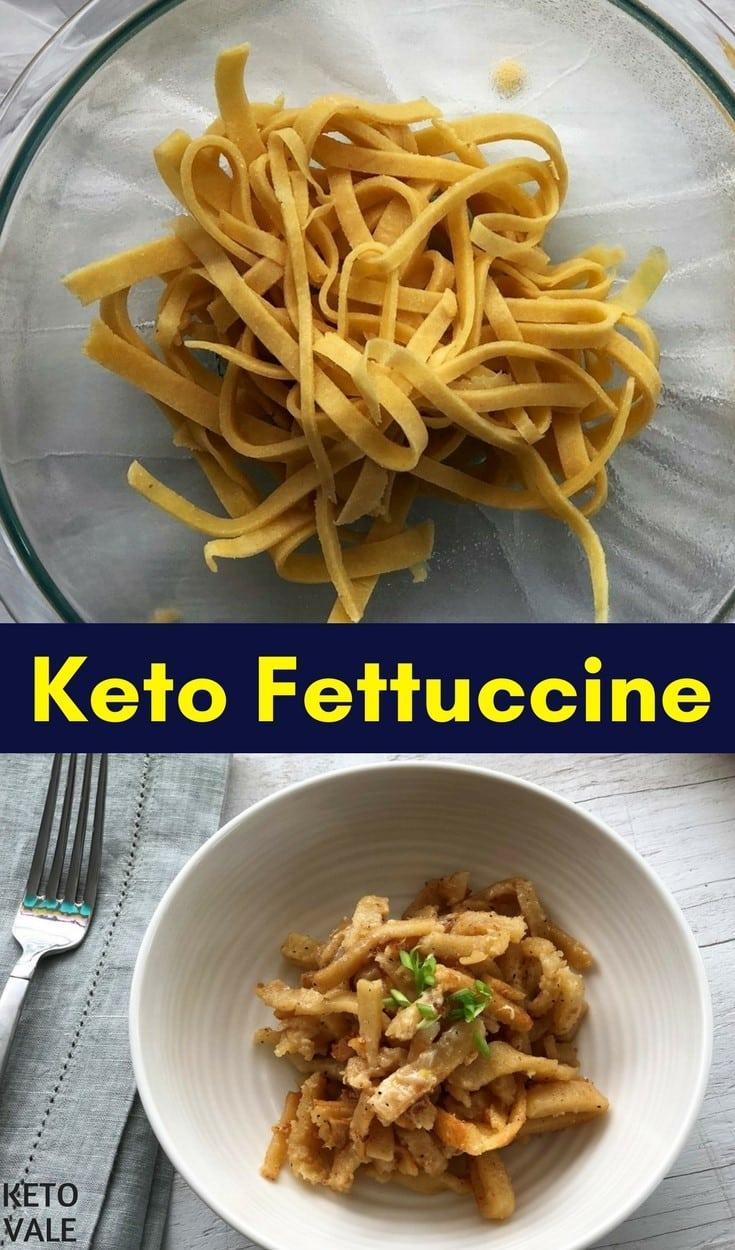 Keto Fettuccine Alfredo Low Carb Pasta Recipe Keto Vale