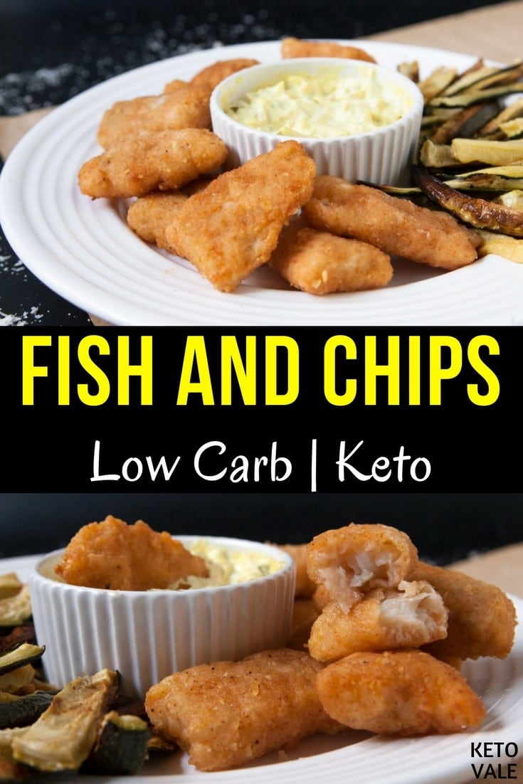 Keto Fish and Chips Low Carb Breading Recipe