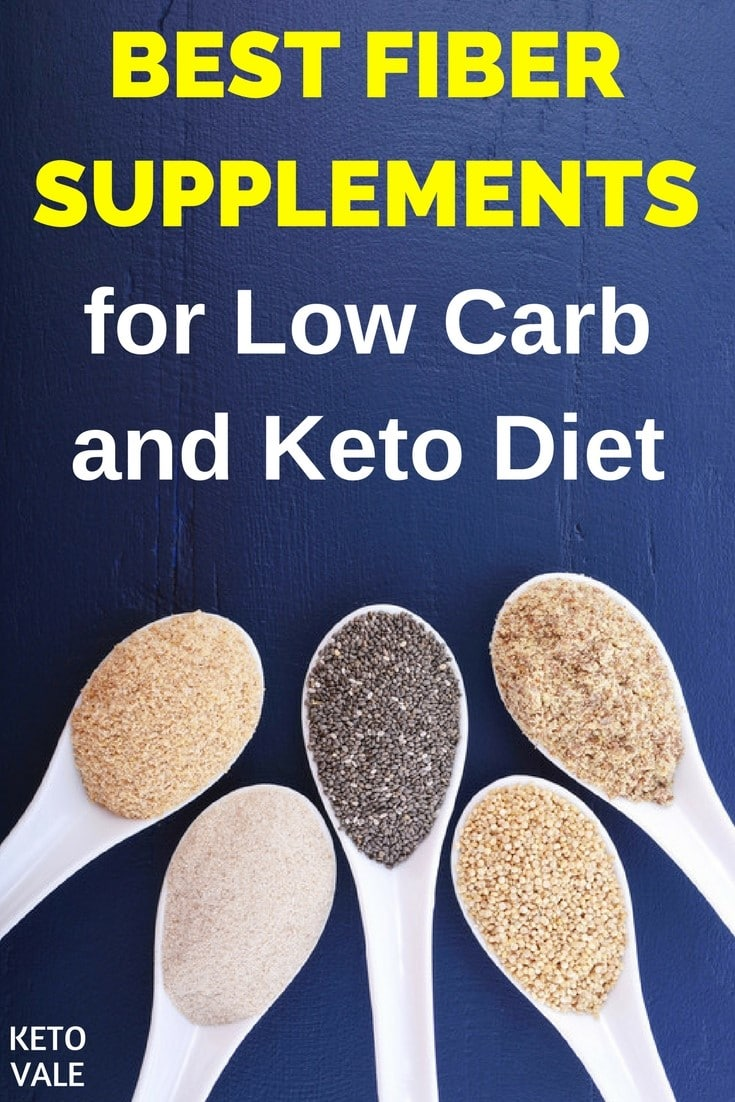 Low Carb Keto Fiber Supplements for Ketogenic Diet