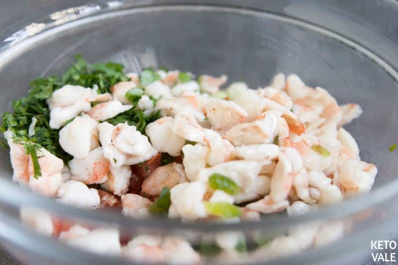 Mixing Ceviche