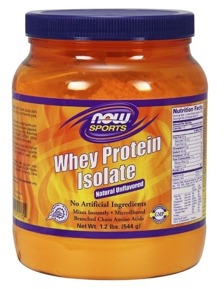 NOW Sports Whey Protein Isolate