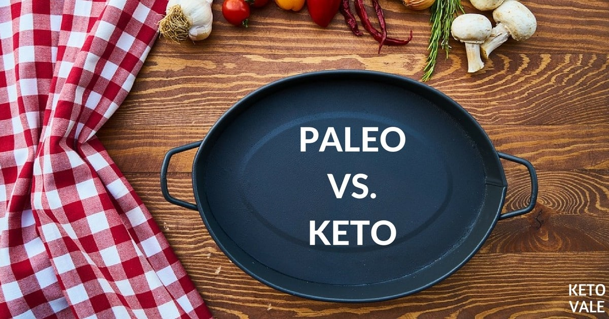 Paleo vs Keto Diet Difference