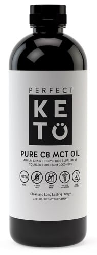 Perfect Keto MCT Oil Liquid