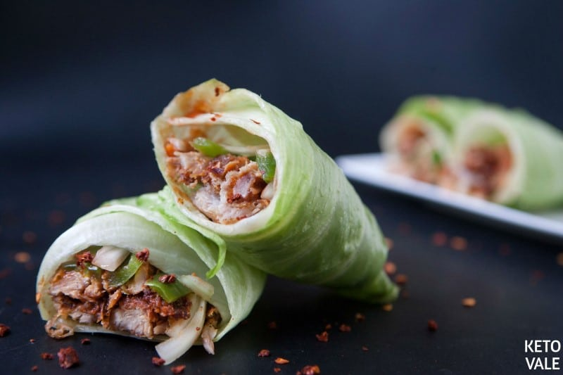 Pulled Pork Lettuce Wraps Recipe