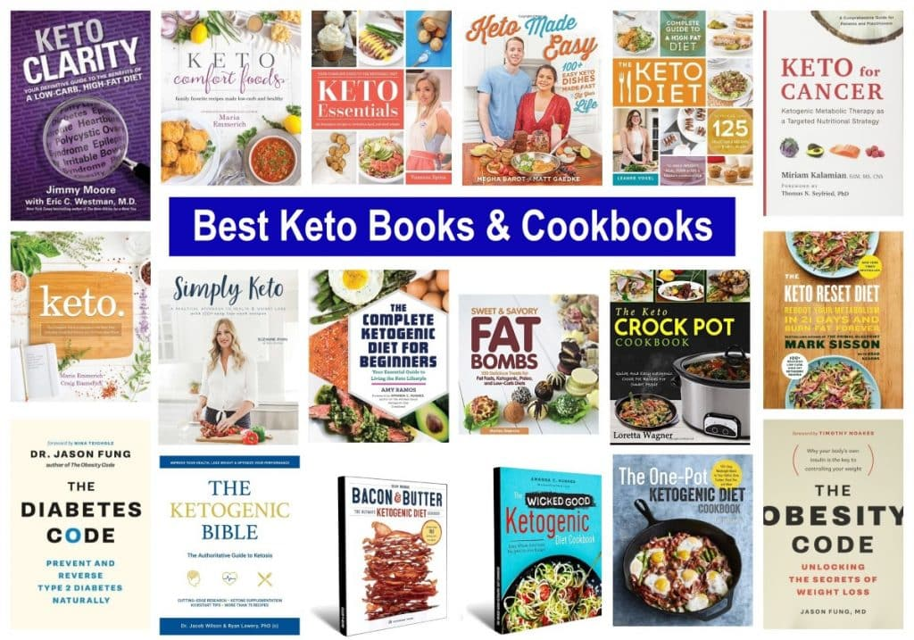 Best Keto Books and Cookbooks