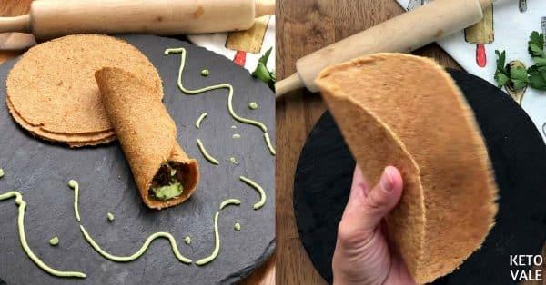 Flaxseed Tortillas