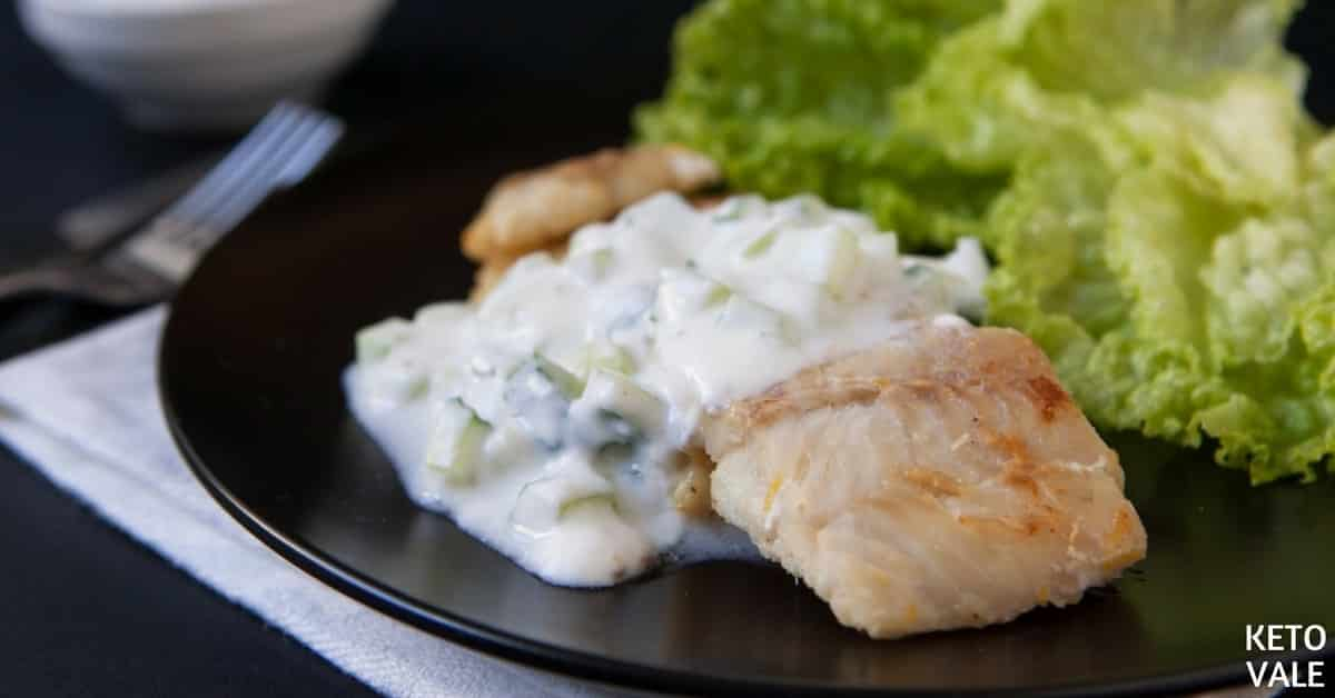 Fried Fish with Raita