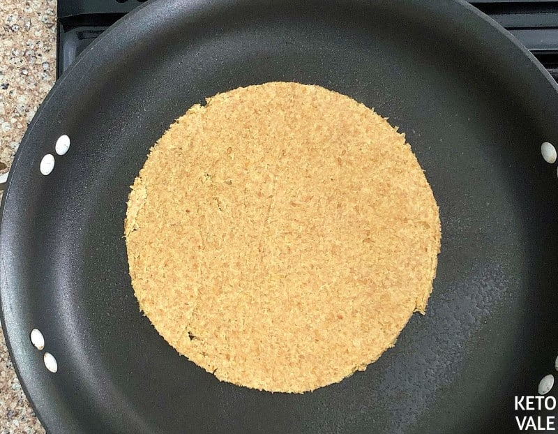 Fry tortillas in oil