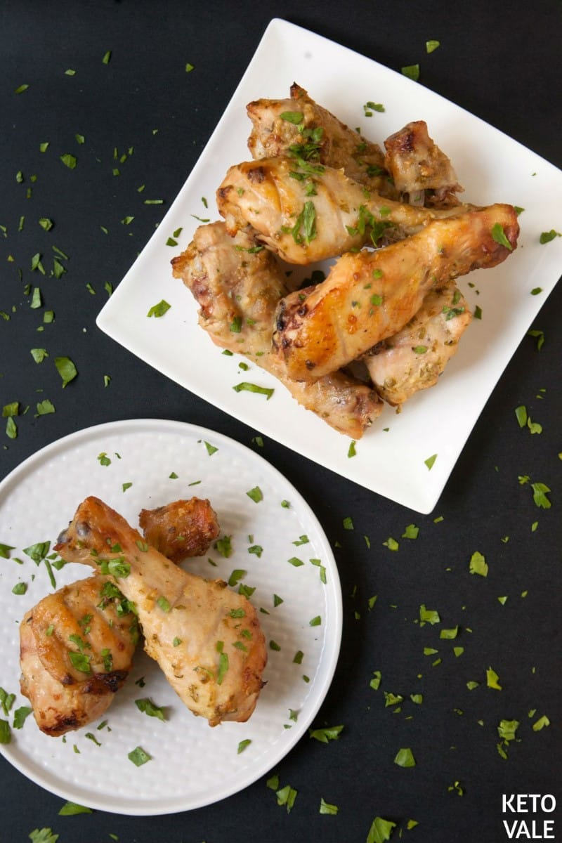 Keto Baked Chicken Drumsticks