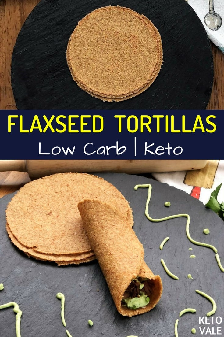 Keto Flaxseed Tortillas