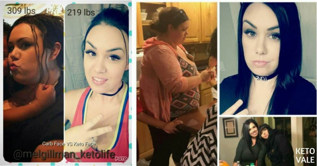 Melissa Gillman Keto Success Story