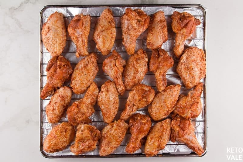 baking korean chicken wings