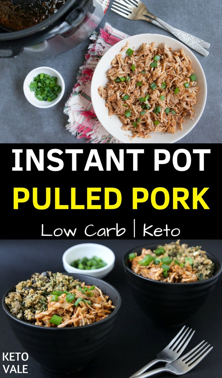 Instant Pot Pulled Pork Low Carb