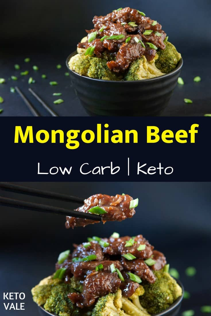 Keto Mongolian Beef Low Carb Recipe