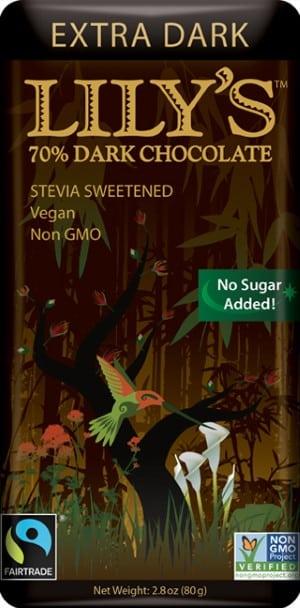 Lily's Extra Dark Chocolate Bar