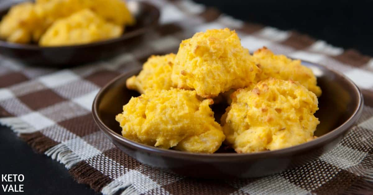 coconut flour cheese biscuits