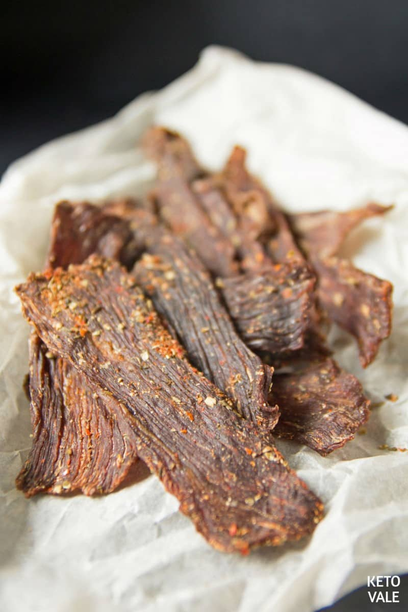 low carb beef jerky
