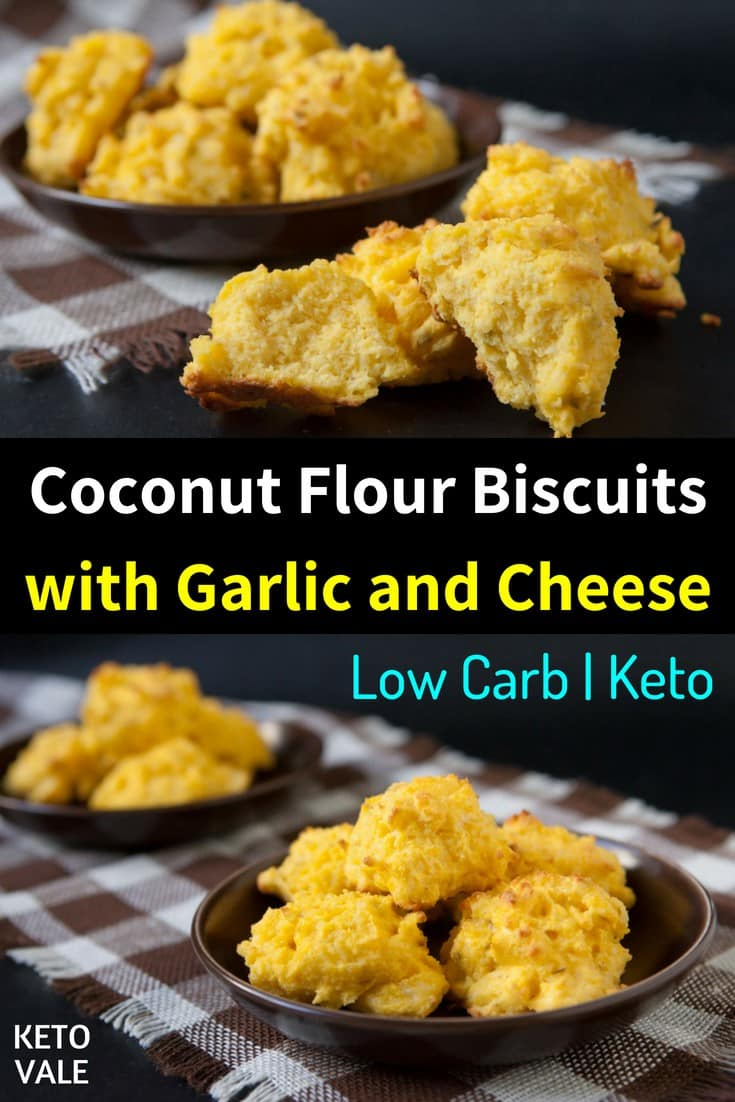 low carb coconut flour biscuits