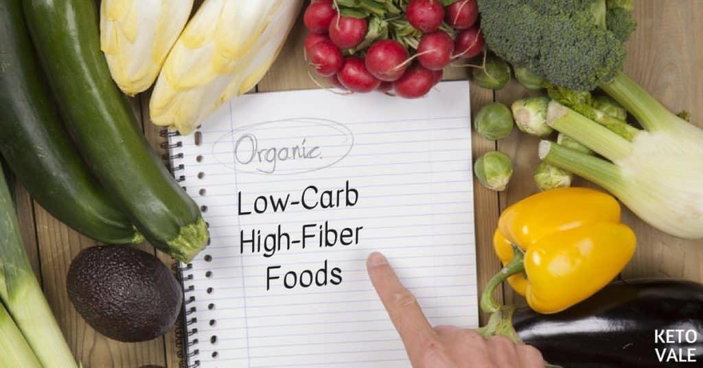 low carb high fiber foods