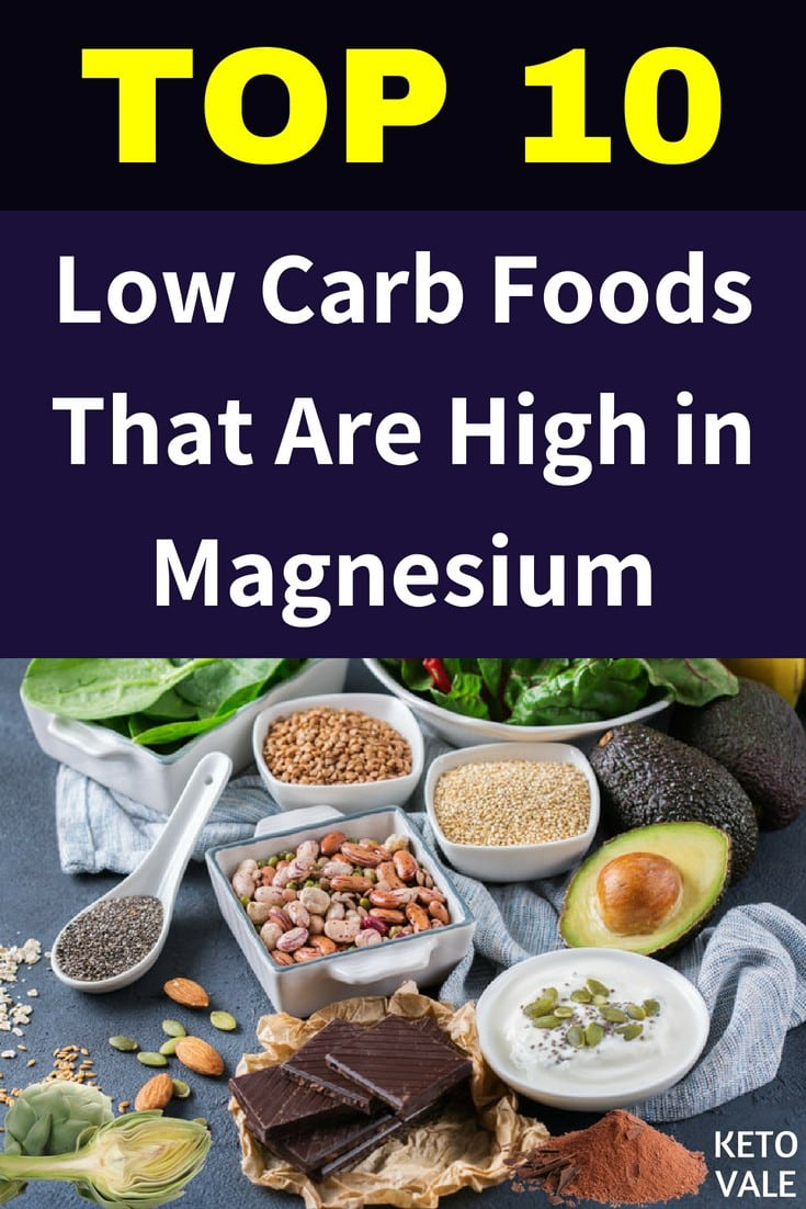 Best Low Carb Foods That Are High in Magnesium
