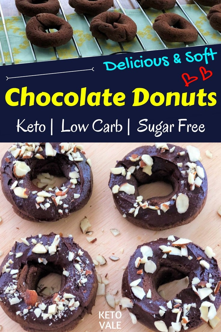 Sugar free chocolate donuts