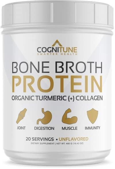 CogniTune Bone Broth Protein Powder