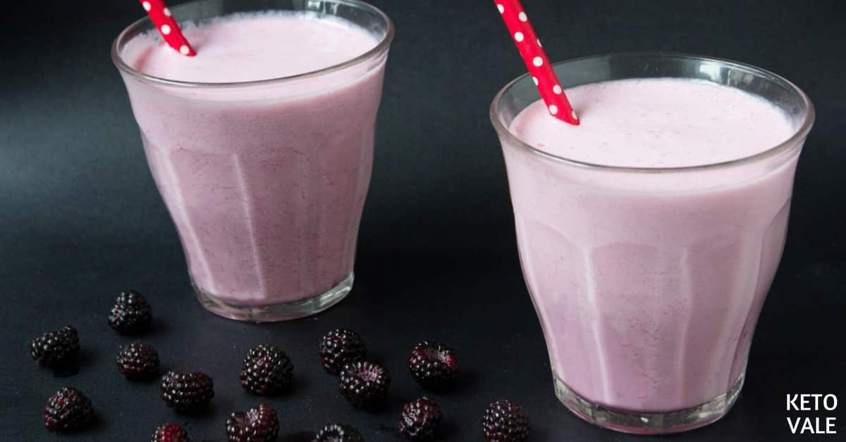 blackberry cheesecake smoothie