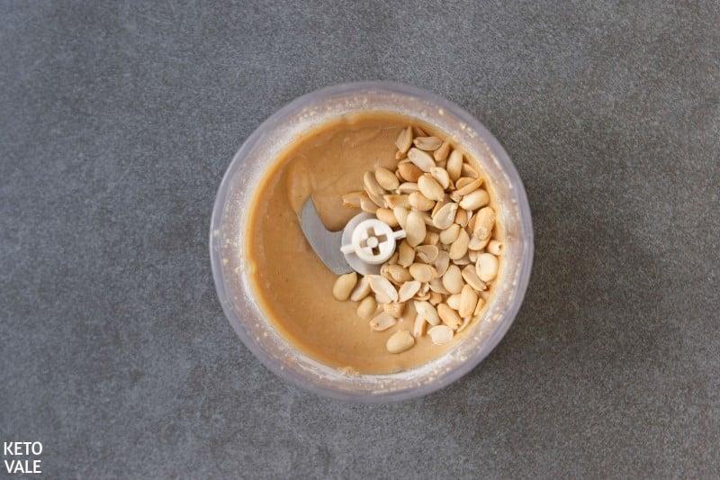 blend roasted peanuts