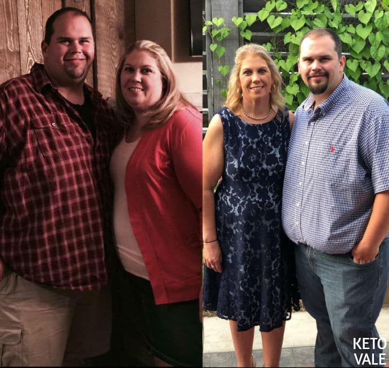 keto couple weight loss