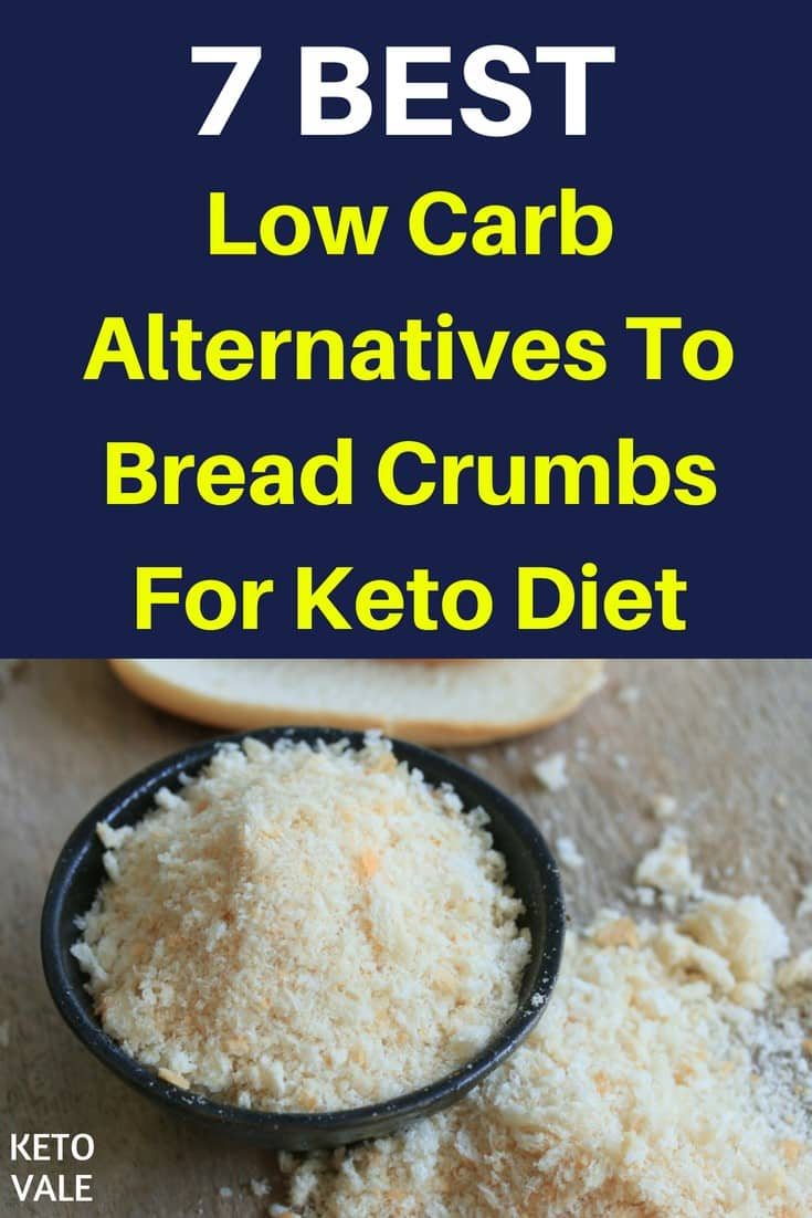 Low Carb Alternatives To Bread Crumbs for Keto Diet